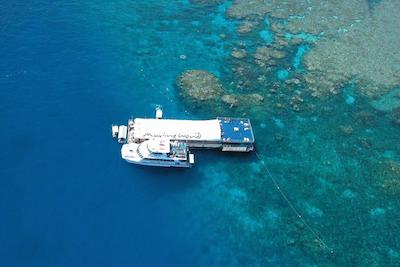 Great Barrier Reef cruise tour from Cairns, Australia