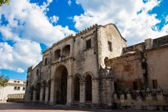 Colonial architecture seen on Santo Domingo tour