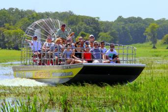 Airboat day trip from Orlando