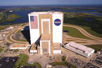 Kennedy Space Center facility in Cape Canaveral as seen on Orlando tour
