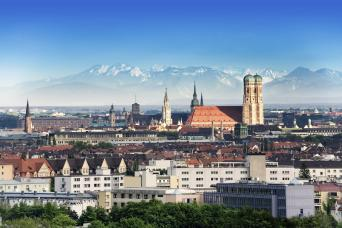 Beautiful cityscape of Munich as seen on our city tours