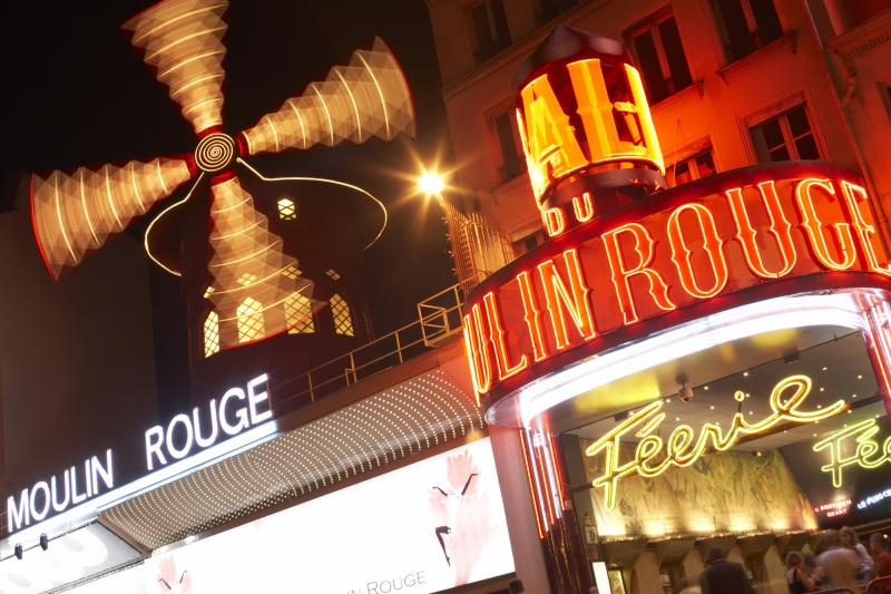 The Moulin Rouge and other Paris night tours