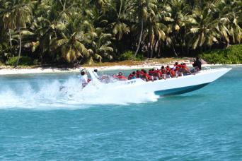 Speedboat tour from La Romana to Saona Island